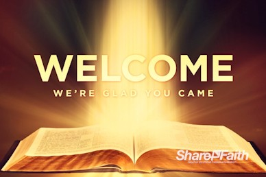 The Word of God Welcome Church Video Loop