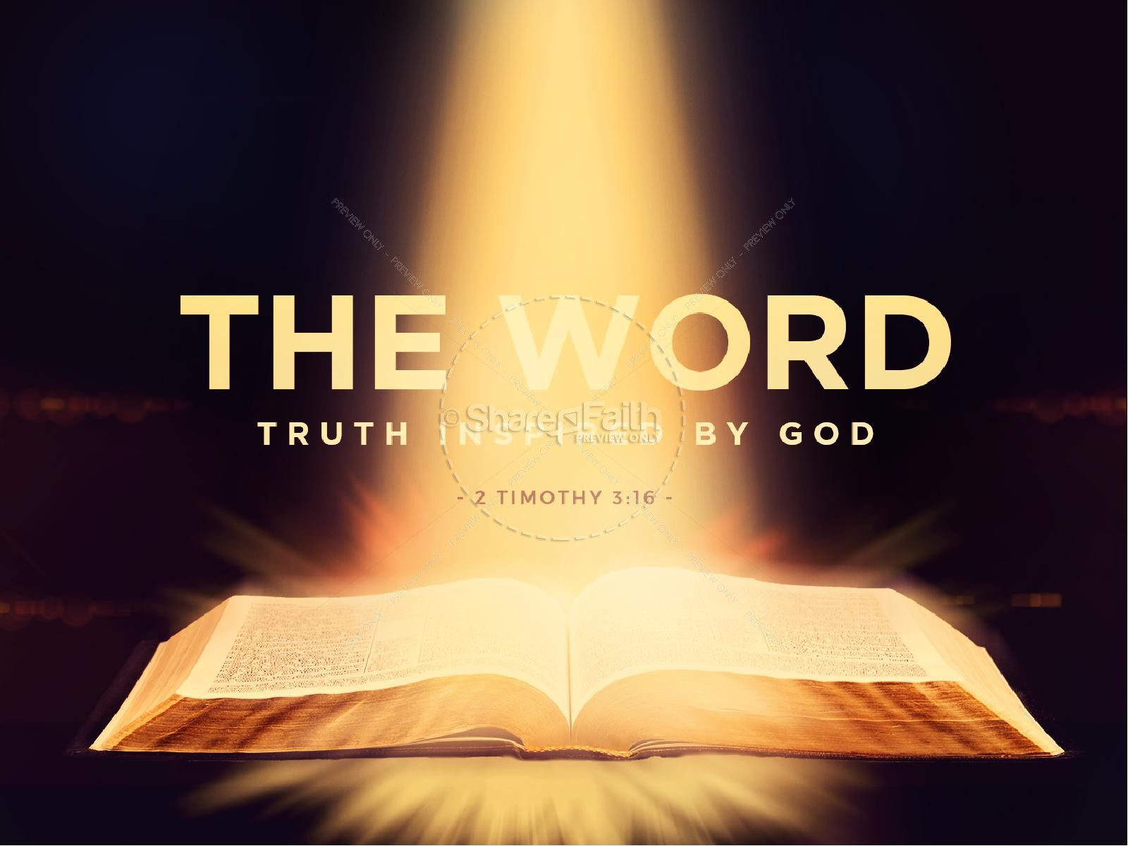 the importance of the word of god