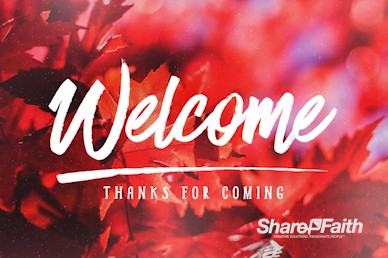 Happy Thanksgiving Wishes Welcome Motion Graphic