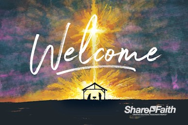 A Child Is Born Welcome Motion Graphic