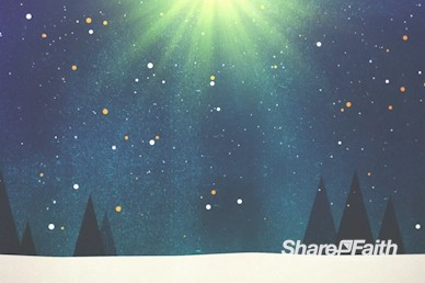 Merry Christmas Tree Worship Motion Background
