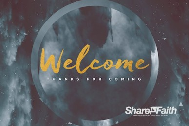 Outpouring of the Holy Spirit Welcome Motion Graphic