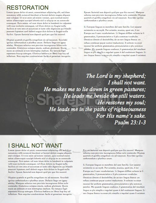 He Restores My Soul Church Newsletter | page 2
