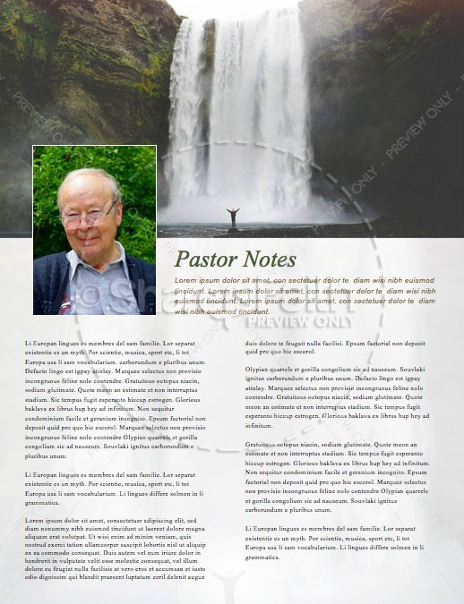 He Restores My Soul Church Newsletter | page 3