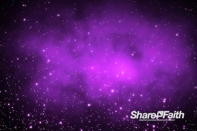 Purple Rising Snow Christmas Motion Graphic