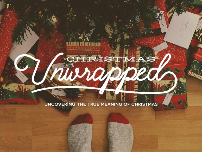 Christmas Unwrapped Church PowerPoint