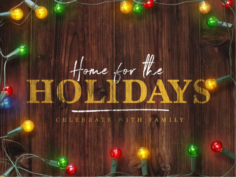 Home For The Holidays Christmas PowerPoint