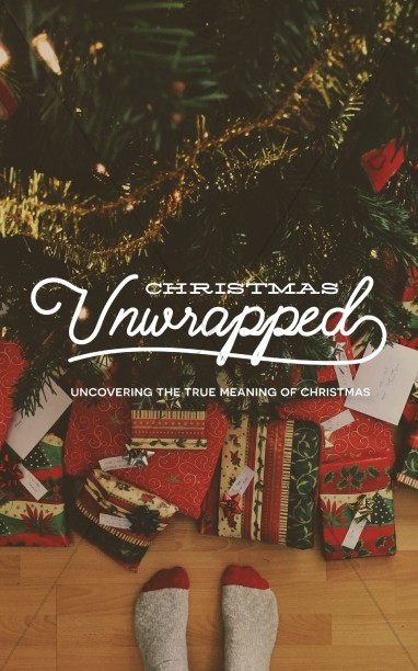 Christmas Unwrapped Church Bulletin