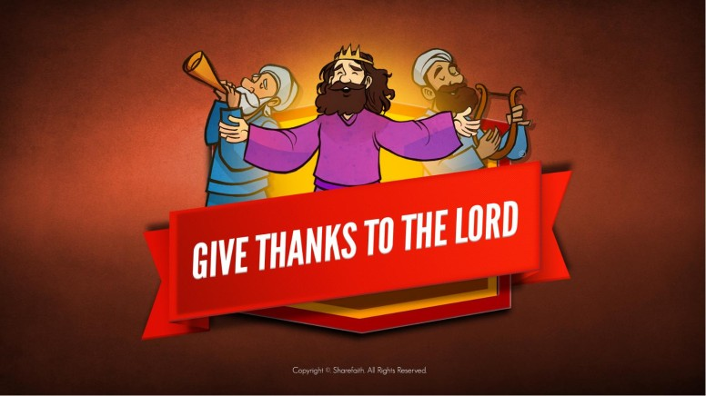 2 Chronicles 20 Give Thanks to the Lord Kids Bible Story