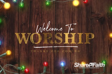 Home for the Holidays Welcome Motion Graphic