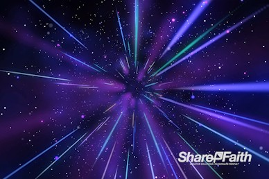 Purple Hyper Space Motion Graphic