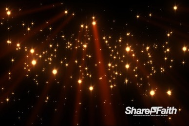 Golden Falling Light Beams Christmas Motion Graphic