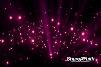 Magenta Rising Light Beams Christmas Motion Graphic