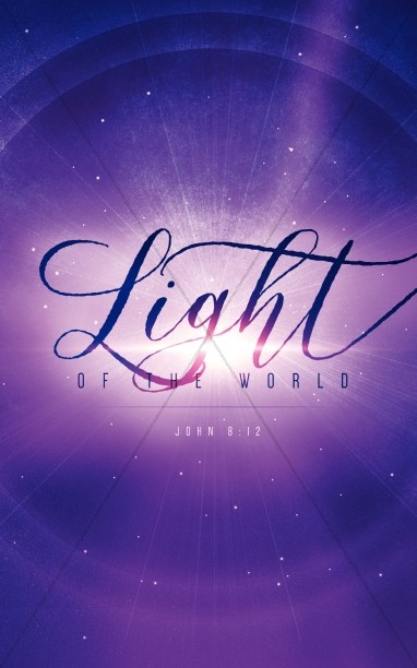 Light of the World Star Christmas Bulletin
