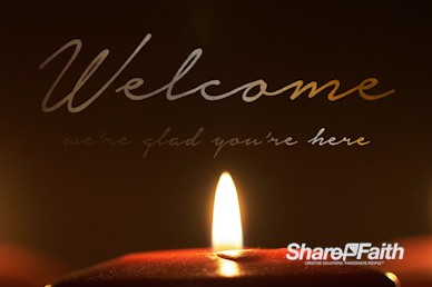 Silent Night Welcome Motion Graphic