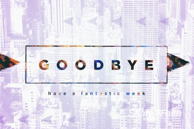 Do Over Goodbye Church Motion Graphic