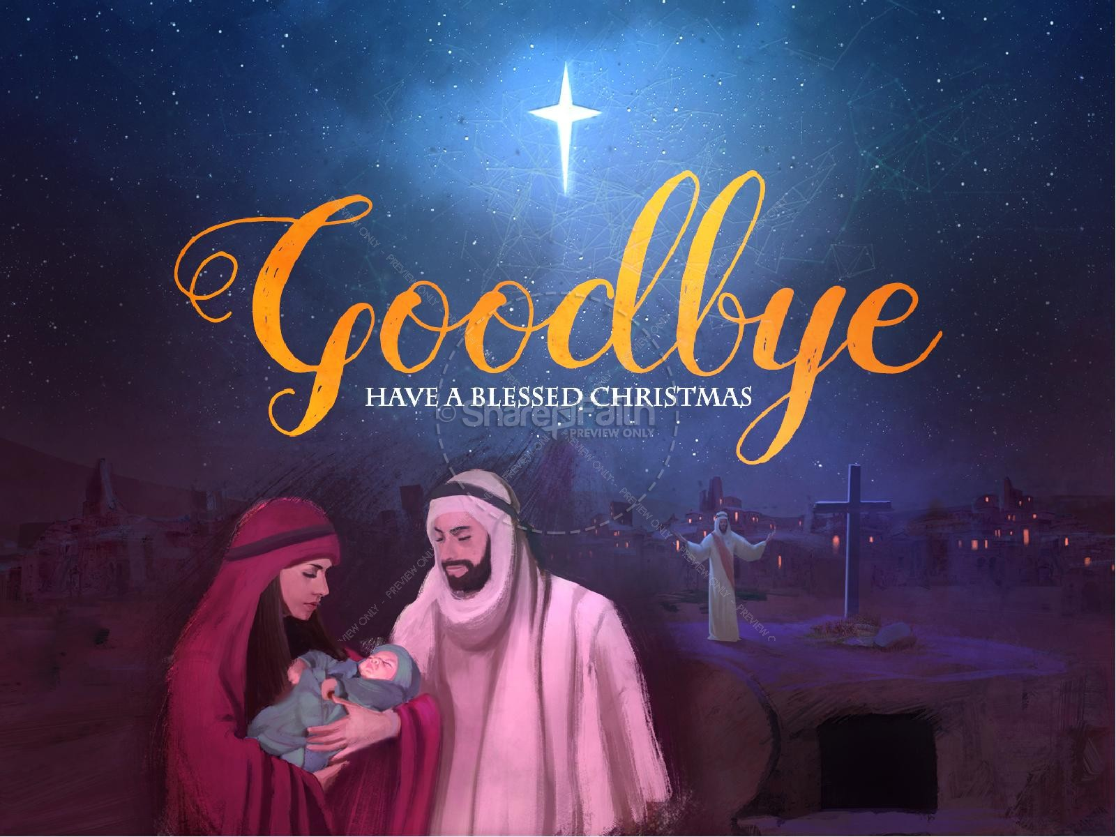 A Savior is Born Christmas PowerPoint | slide 4