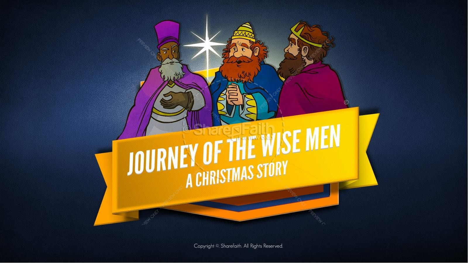 Matthew 2 The Magi Christmas Story Kids Bible Lesson