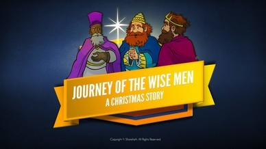 Matthew 2 Journey of the Wise Men: The Magi Christmas Story Bible Video For Kids