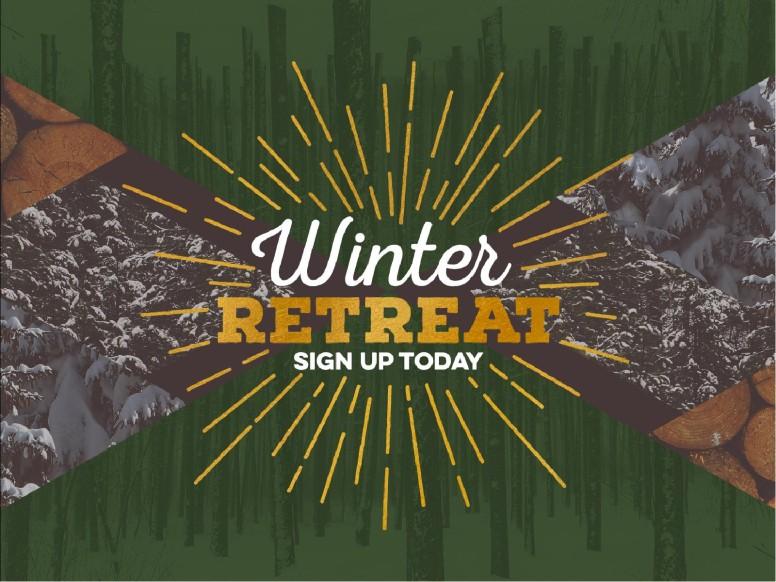 Winter Retreat Church PowerPoint