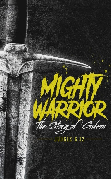 Gideon Mighty Warrior Church Bulletin