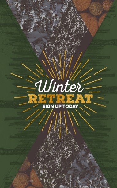 Winter Retreat Church Bulletin