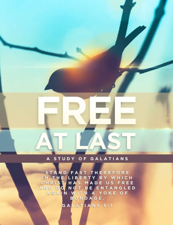 Free At Last Church Flyer