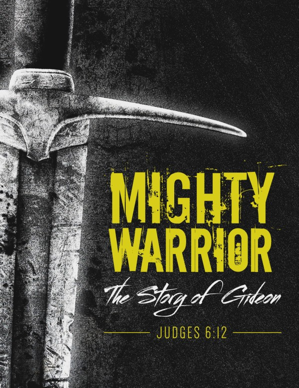 Gideon Mighty Warrior Church Flyer
