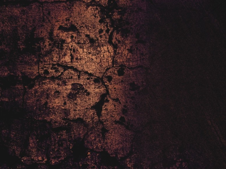 Mighty Warrior Stone Wall Grunge Background