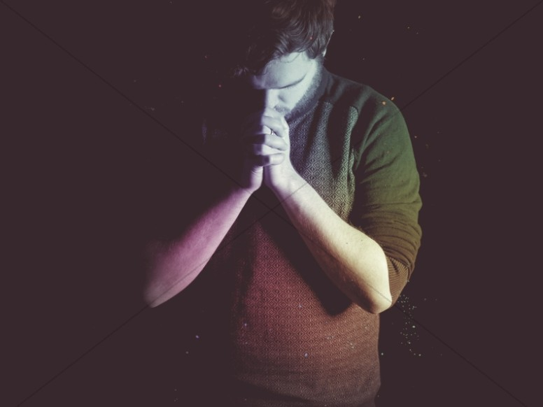 Pray Without Ceasing Church Worship Background
