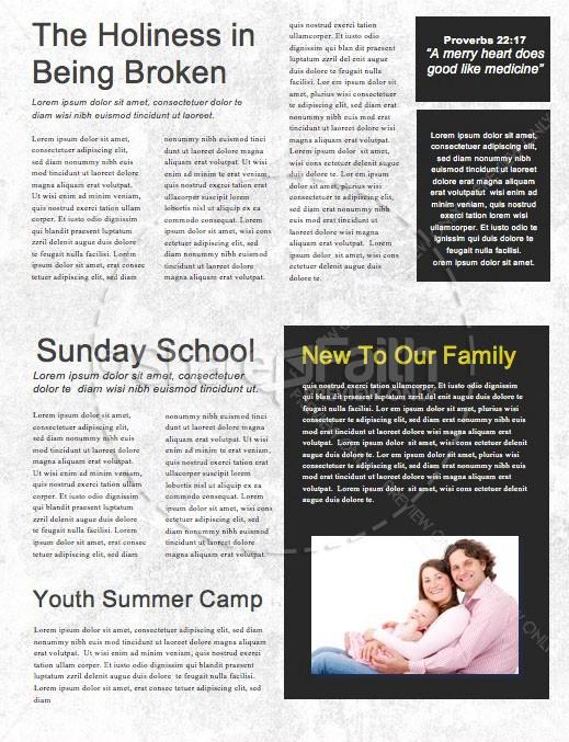 Mighty Warrior Church Newsletter