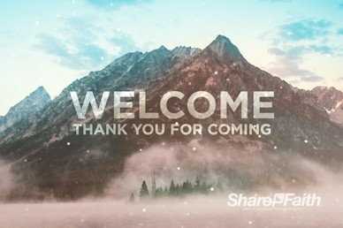 Moving Mountains Welcome Motion Graphic