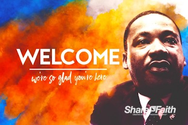 I Have A Dream Martin Luther King Welcome Motion Graphic