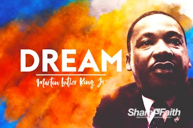 I Have A Dream Martin Luther King Motion Graphic