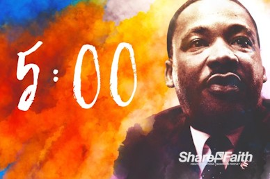 I Have A Dream Martin Luther King Church Countdown
