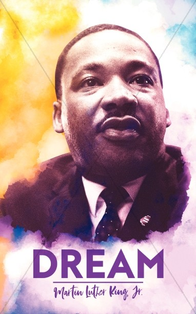 I Have A Dream Martin Luther King Church Bulletin