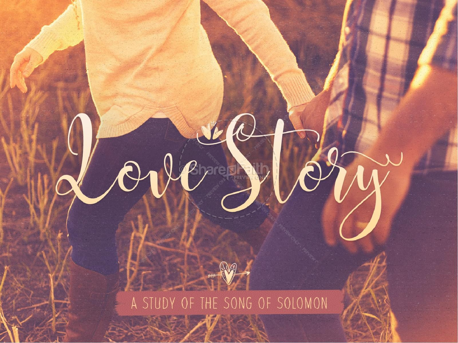 Love Story Song Of Solomon Church Powerpoint