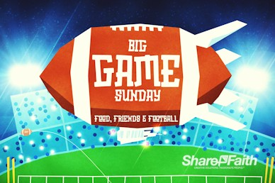 Super Sunday Big Game Motion Graphic