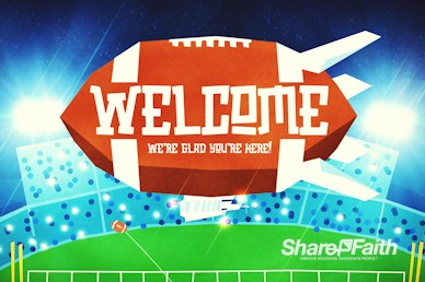 Super Sunday Big Game Welcome Motion Graphic