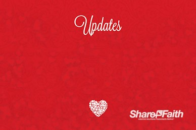 Happy Valentine's Day Love One Another Announcements Motion Graphic