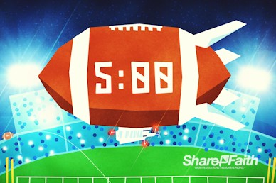 Super Sunday Big Game Church Countdown Timer