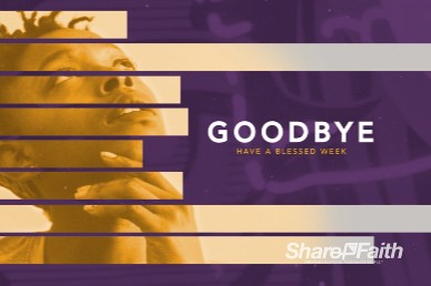 Black History Month Goodbye Bumper Video