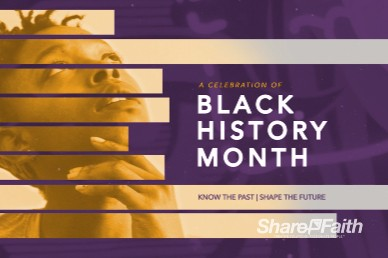 Black History Month Bumper Video