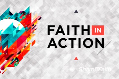 Faith In Action Church Motion Graphic
