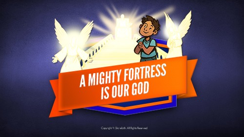 Psalm 91 A Mighty Fortress is our God Bible Video for Kids