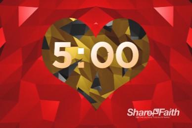 Create In Me A Pure Heart Church Countdown Timer