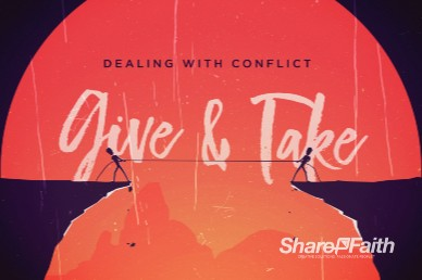 Give And Take Church Motion Graphic