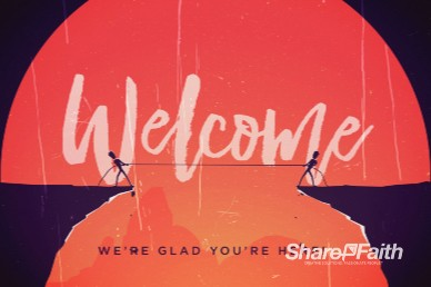 Give And Take Welcome Church Motion Graphic