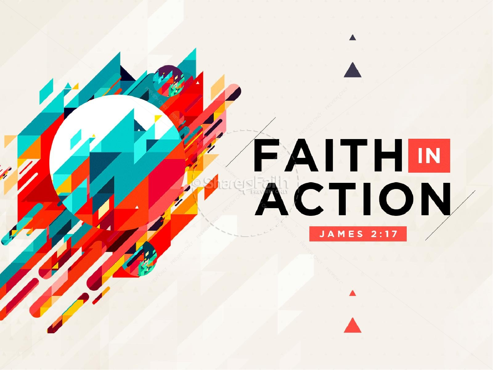 faith in action sermon powerpoint powerpoint sermons good clip art gold clipart