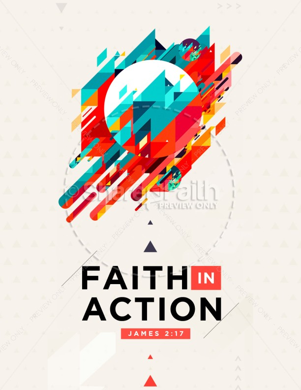 Faith In Action Church Flyer